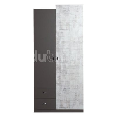 TABLO TA 3 GRAFIT ENIGMA dviejų durų spinta