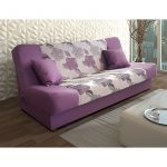 JAS-T sofa lova su miegma funkcija ir patalynes deze (Tearla-2 + violetinis)