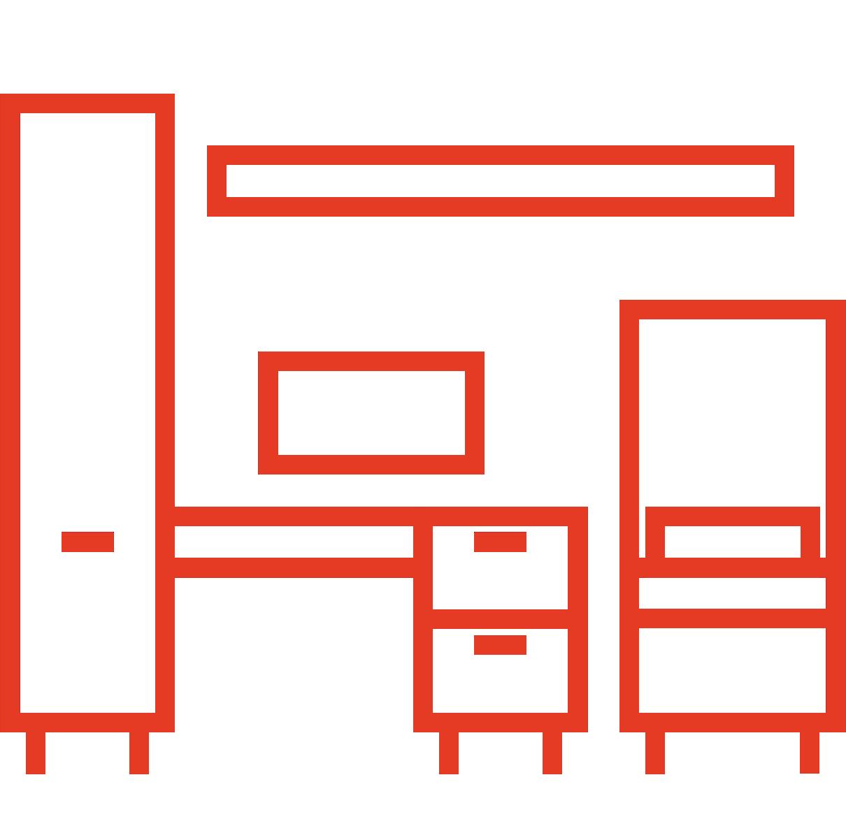 Jaunuolio kambario sistemos
